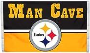 NFL Men,Unisex-Adult,Women Man Cave 3 X 5 Flag W/ 4 Grommets
