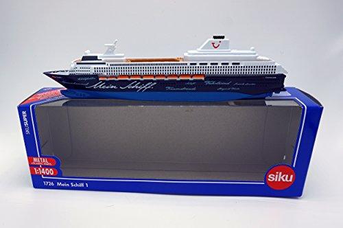 Die-Cast Vehicle Mein Schiff 1 Siku 1726