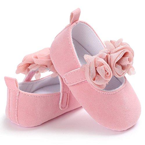 Princesa Bebé Para 3 Casual Niña Mes 18 Auxma 6 6 Bowknot De Ff 12 Zapatos Soft 12 qEYz0tF