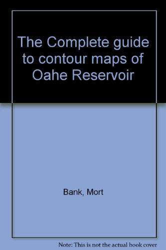 South Dakota Fishing Maps (The Complete guide to contour maps of Oahe Reservoir)