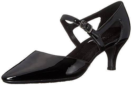 Mary Aerosoles Janes (Aerosoles Womens Ardent Pointed Toe Mary Jane Pumps, Black Patent, Size 10.0)