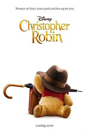 映画ポスター プーと大人になった僕 Christopher Robin ディズニー US版 hi1 [