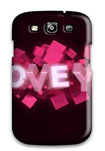 Hard Plastic Galaxy S3 Case Back Cover,hot Fantastic Love Case At Perfect Diy