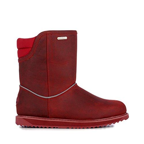 EMU Australia Judbury Womens Waterproof Sheepskin Boots Size 10 Red Shearling Boots