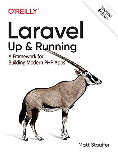 Book : Laravel: Up and Running: A Framework for Build (1214)