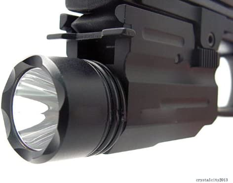 This is an image of a laser light ADE Advanced Optics with lens facing forward.