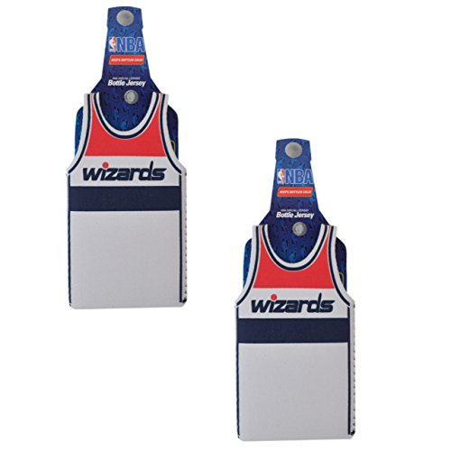 Official National Basketball Association Fan Shop Authentic NBA Insulated Bottle Team Jersey Cooler (Washington Wizards)