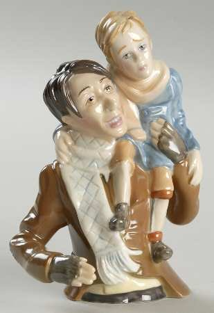 Department 56 Bob Cratchit & Tiny Tim Candle Snuffer #56.50030