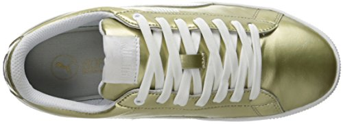 Da Metallic puma Us M Donna Gold Platform Fashion Sneaker White 6 Vikky TBEgwaBq