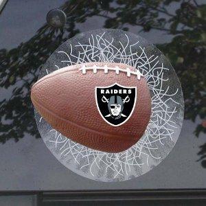 Oakland Raiders Sportz Splatz Window Decal (Splatz Sportz Window)
