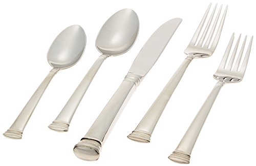 41SKe0MT rL - Lenox Eternal 5-Piece Stainless Flatware Placesetting