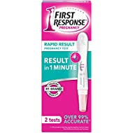 First Response Rapid Result Pregnancy Test, 2 Pack