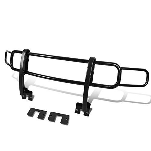For Hummer H3 / H3T OE Style Front Bumper Brush Bull Bar Grille Guard (Black)