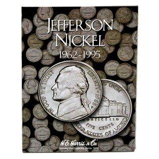 Jefferson Nickel Folder 1962-1995