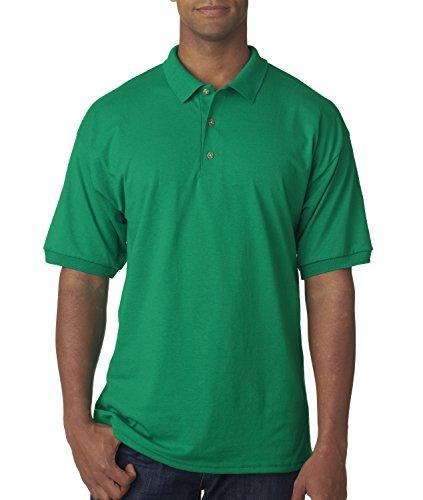Gildan Adult DryBlend Preshrunk Polo Shirt, Kelly Green, XXXXX-Large