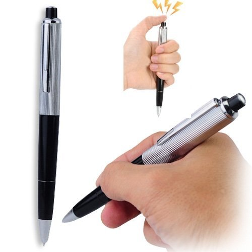 Price comparison product image Safety Electric Amazing Shocking Pen Funny Toy