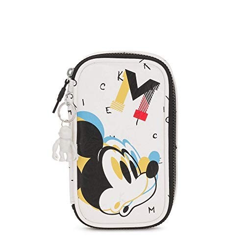 Kipling Disney's Minnie Mouse And Mickey Mouse 50 Pens Printed Case Keep It Classic (Disney Mickey Mouse Leather)