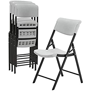 Amazon.com: EventStable TitanPRO Silla plegable de plástico ...