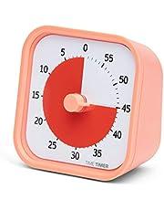 Time Timer MOD Home Editie - Visuele Timer voor kinderen en volwassenen, voor huiswerk, school-, kantoor- en vergaderingen met stille werking, 60 minuten (Dreamsicle Oranje)