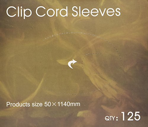 125 Tattoo Clip Cord Disposable Individual Cover Bags Clean Barrier Supply 2