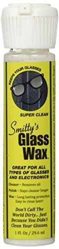 Smittys Glass Wax - Remover Scratch Products Eyeglasses