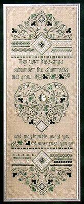 Irish Blessing Sampler - Cross Stitch Pattern