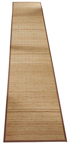 [해외]WalterDrake 대나무 논 슬립 러너 118 x23/WalterDrake Bamboo Non Slip Runner 118 x23