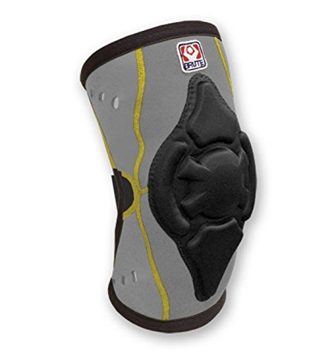 (Brute Torq Wrestling Knee Pad - SIZE: XX-Large, COLOR: Gray/Black/Gold [Misc.] )