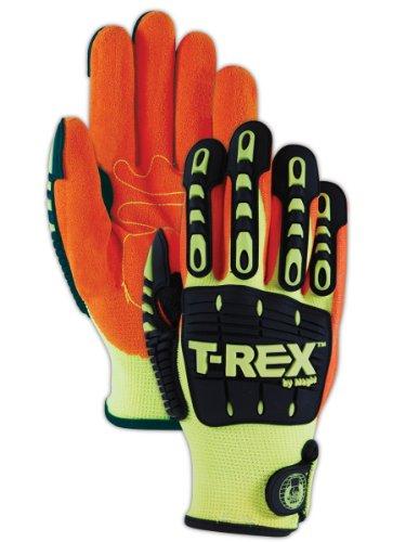 Magid TRX500T ProGrade Plus T-REX Men's Impact Glove, Large -