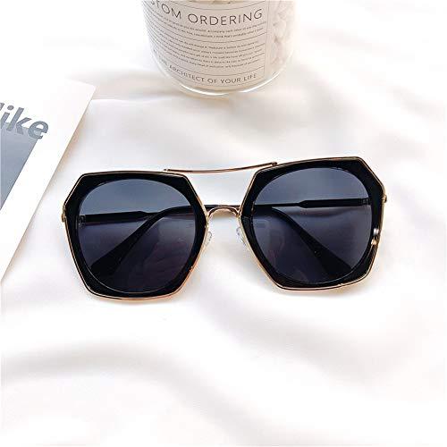 cadre métal était en rond sauvage lunettes soleil unisexe mince lunettes de visage NIFG de grand soleil cadre lunettes Rétro p8qzEEOB