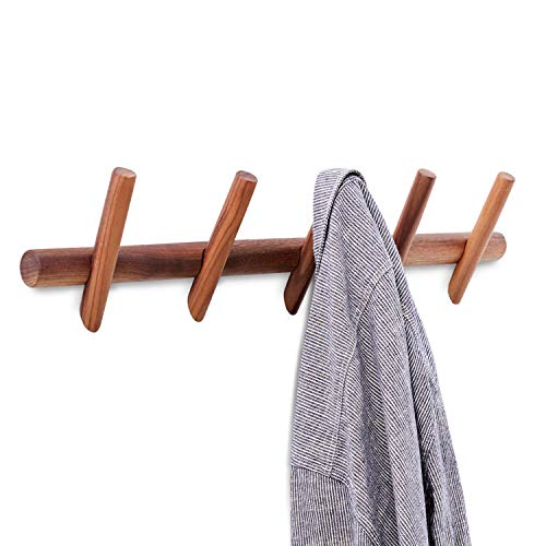 wood bath towel rack - 9