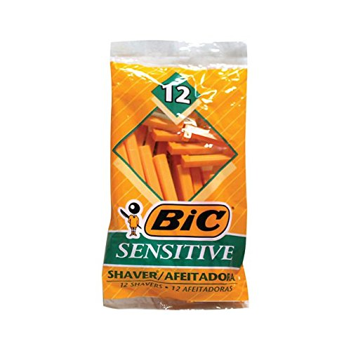 BIC Sensitive Single Blade Shaver, 12 Count thomaswi