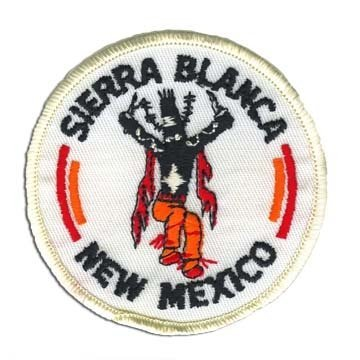 Sierra Blanca New Mexico 1970's Collector Ski Patch ()