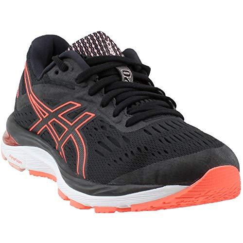 ASICS Gel-Cumulus 20 Women's Running Shoe, Black/Flash Coral, 8 M US