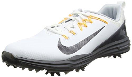 Nike Lunar Command 2 Golf Shoes 2017 White/MTLC Dark Gray/Dark Gray Medium 10