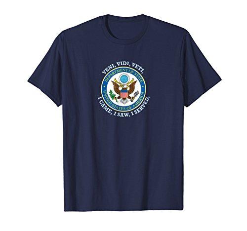 Mens Us State Department Vvv Seal T Shirt Medium Navy