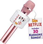 Move2Play Bluetooth Karaoke Microphone for Kids, Toy for 4 5 6 7 8 Year Old Girls and Boys