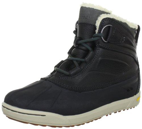 Hi Tec Sierra Duck WP HTO002035 - Zapatillas fashion de cuero para hombre Negro