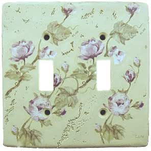 Rose Floral Light Switch Plate Cover Wall Home Decor Multi Switch Plates