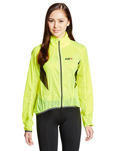 Louis Garneau - W's x-lite jacket - Bright yellow - M (Cycling Jacket Lite)