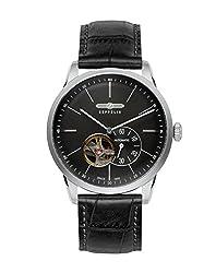 Zeppelin Flatline 7364-2 Automatic - Open Heart (Balance) Watch