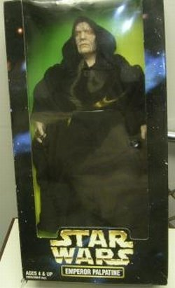 Child Emperor Palpatine Costume (1998 Star Wars Emperor Palpatine 12-inch Large Size Action Figure)