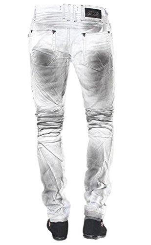Jeans - coole Waschung - grau
