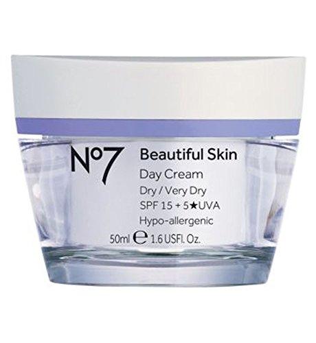 ドライ/非常に乾燥肌Spf 15 50ミリリットルのためNo7美肌デイクリーム (No7) (x2) - No7 Beautiful Skin Day Cream for Dry / Very Dry Skin SPF 15 50ml (Pack of 2) [並行輸入品]   B01N3KRMWG