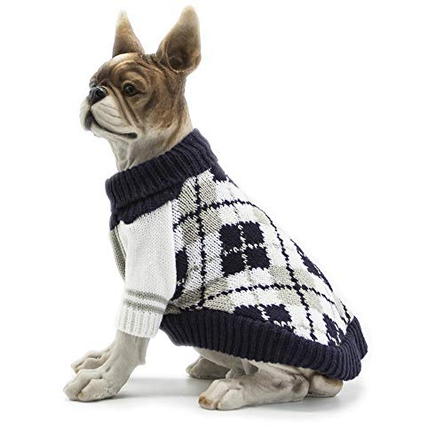 Apetian Dog Sweater Cold Weather Coats Winter Dog Apparel Dog Knitwear Clothing