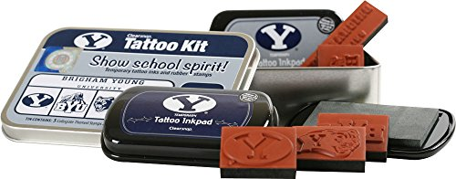 CLEARSNAP Color Box Brigham Young University Tattoo Kit ()