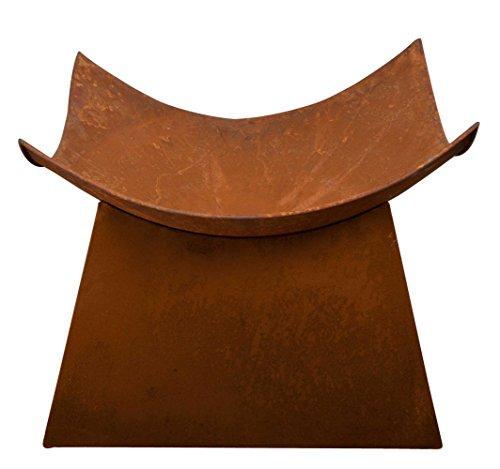 Esschert Design Rusted Steel Fire