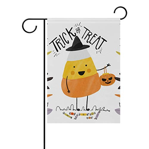 Jojogood Cute Halloween Background Garden Flag 12