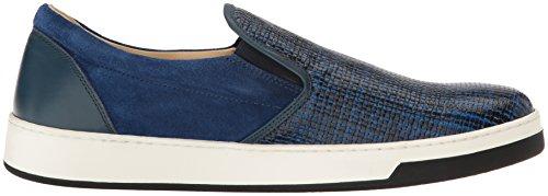 Bugatchi Heren Cinque Terre Fashion Sneaker Blauw