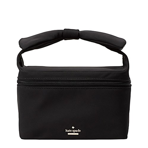 Kate Spade New York Haring Lane Joelie cosmetic Make up Travel Case Black by Kate Spade New York